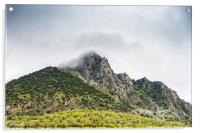 Grazalema Natural Park in Andalusia, Spain, Acrylic Print
