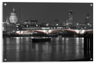 London Skyline, Acrylic Print