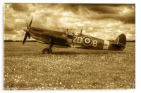 Spitfire Mk IXB, Acrylic Print