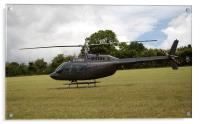 Helicopter - Bell Jet Ranger 206, Acrylic Print