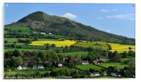 Llanvihangel Crucorney and The Skirrid Mountain, Acrylic Print