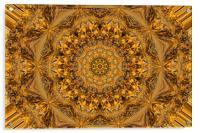 Golden Lace, Acrylic Print
