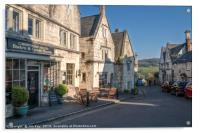 Painswick The Cotswolds in the Spring, Acrylic Print