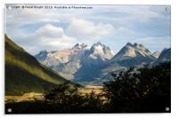 Tierra del Fuego, Argentina, Acrylic Print