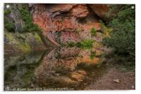 Oak Creek Canyon, Acrylic Print