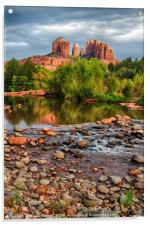 Cathedral Rock, Acrylic Print