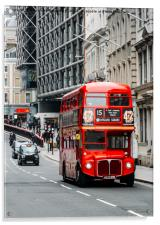 London Routemaster Bus, Acrylic Print