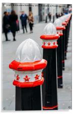 City of London Bollard , Acrylic Print