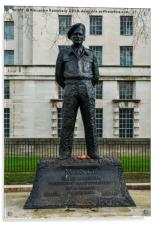 Field Marshal Viscount Montgomery of Alamein, Acrylic Print