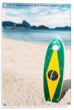 Brazilian Standup Paddle, Acrylic Print
