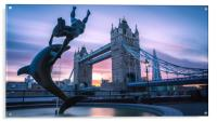 Tower Bridge, Acrylic Print
