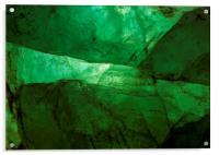 Crystalline Green, Acrylic Print