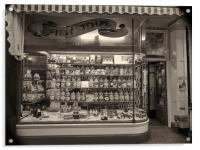 The 100 year old traditional sweetshop, Acrylic Print