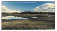 Reflections on the lake, Acrylic Print
