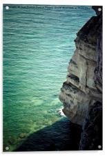 The cliff, Acrylic Print