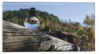Mining reflections, Acrylic Print