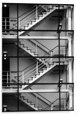 Staircase, Acrylic Print