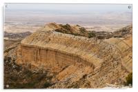 High desert plateau , Acrylic Print