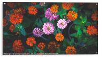 Colorful Daisy, Acrylic Print