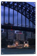 Luna park , Acrylic Print
