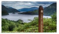 Loch Lomond from Cnap Mor, Acrylic Print