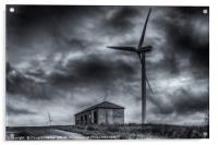 Pates Hill Wind Farm, Acrylic Print