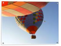 Hot air balloons in Turkey, Acrylic Print