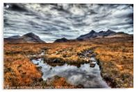 The Cuillin Range No.1, Acrylic Print