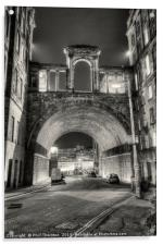 Carlton Road Tunnel and Waterloo Place., Acrylic Print