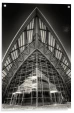 Glasgow SECC, Acrylic Print