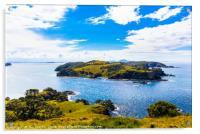 Bay of Islands view, Acrylic Print