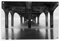 Under The Pier at Boscombe, Acrylic Print