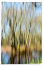 The Tree Rush, Acrylic Print