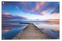 West Kirby sunset, Acrylic Print