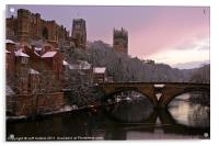 Durham Castle and Cathedral, Acrylic Print