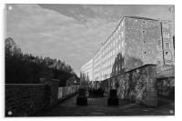 New Lanark Mill, Acrylic Print
