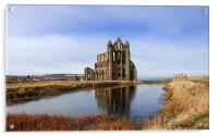 Whitby Abbey in North Yorkshire, Acrylic Print
