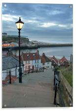 Whitby Steps, Acrylic Print