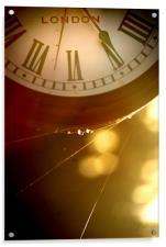 Timeless Clock, Acrylic Print