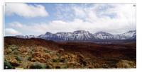 Spain - Parque National del Teide , Acrylic Print
