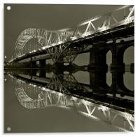 Runcorn Bridge, Acrylic Print