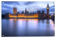 Big Ben and the houses of Parliament, Acrylic Print