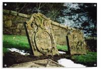 Gravestones , Acrylic Print