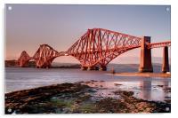 The Forth Rail Bridge, Acrylic Print