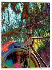 Old Bicycle, Acrylic Print
