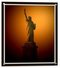 Statue of Liberty, Acrylic Print