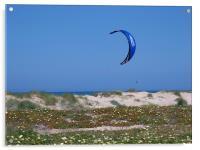 Lone Kite Surfer, Acrylic Print