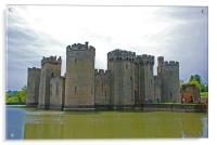 Bodiam Castle, Acrylic Print
