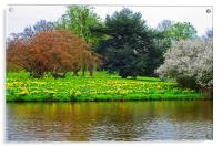 Spring at Hever castle, Acrylic Print