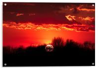 Norfolk Sunset - 1, Acrylic Print